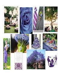 Weddings Inspiring Ideas Bluish Purple Garden Wedding