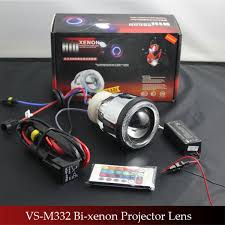 vs m332 car bulbs that change color with hid projector len