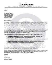 David Perkins Cover Letter View Samples