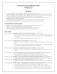 Welding Resume Objective Examples Cover