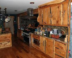 Kitchen Cabinets Rustic Style Cabinet Paint Look