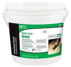 tec皰 ready to use premixed grout 647 1 2 gal at menards皰