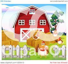 Cartoon Of A Red Barn With Hay And Hens - Royalty Free Vector ... Red Barn Clip Art At Clipart Library Vector Clip Art Online Farm Hawaii Dermatology Clipart Best Chinacps Top 75 Free Image 227501 Illustration By Visekart Avenue Of A Wooden With Hay Bnp Design Studio 1696 Fall Festival Apple Digital Tractor Library Simple Doors Cartoon For You Royalty Cliparts Vectors