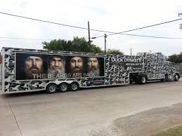 Duck Dynasty Truck And Trailer Wrap In Dallas, TX | Camping ... Willies Food Truck Park Joins Duck Dynasty Family Of Attractions Dub Magazine Willie Robertson The Truck Commander Photo By Dpowell1 From Seveca Sc Commander Ccfr February 14 2013 Deer Hunting Duck Buck Vanity License Plate Car Chevy Silverado By Skyjacker West Monroe La The Lundy 5 La Pinterest Dynasty And Decals For Trucks Oregon Ducks Combat Decal Window