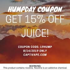 It's Humpday! So Get 15% Off Juice! Coupon Code: 19HUMP ... Element Vape Coupon Code Reddit Usa Vape Wild Discount Codes Deals October 2019 At Uk Tasty Eliquid Home Facebook 10 Off Smok Smoktech For Store Coupon Goods Online Coupons Breazy Code Massive Store Wide Savings Updated For Vapeozilla 89 Off Vampire Voucher Save Money With Ny Shop Codes Get 20 Off Ctivape Ctivape Twitter Best Cbd Pens Of Disposable Or Refillable