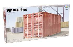 100 Shipping Container Model Trumpeter Scale S 1029 135 20ft Storage