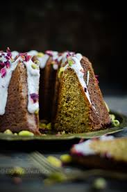 Rose and Pistachio Bundt Cake – Eighty 20 Nutrition