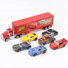 7pcs Set Disney Pixar Cars 3 Lightning Mcqueen Jackson Storm Cruz ...
