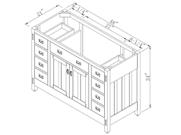 Bathroom Double Vanity Dimensions by Double Bathroom Vanity Dimensions Best Bathroom Decoration