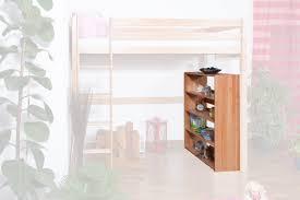 regal küchenregal wohnzimmerregal bücherregal 85 cm breit buche holz massiv farbe natur