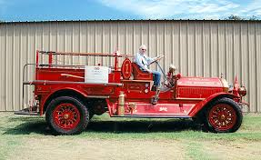 100 Antique Fire Truck Fire Truck Turns 100 Years Old Daily Democrat