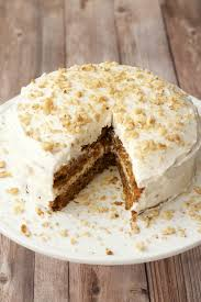 Moist Vegan Carrot Cake with Lemon Buttercream Frosting