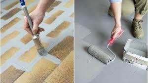 renovation carrelage sol cuisine peinture renovation carrelage repeindre le carrelage au sol dune