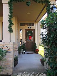 Outdoor Christmas Decorating Ideas Front Porch by Outdoor Christmas Decor The Front Porch Mrs Hines U0027 Class