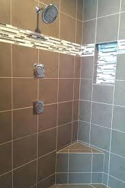 tile bathrooms bathroom subway tiles accent height mosaic