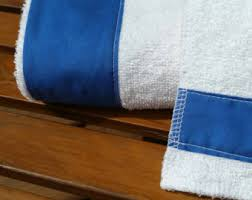 royal blue towel etsy