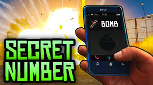 GTA 5 Easter Eggs SECRET PHONE NUMBER BOMB GTA 5 Secret Black Cellphone Easter Egg