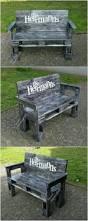 Pallet Outdoor Chair Plans by Best 25 Pallet Garden Benches Ideas On Pinterest Pallet Garden