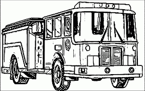 Fire Truck Coloring Pages 7SL6 Free Printable Fire Truck Coloring ...