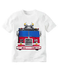 Firetruck Graphic Tee | Carters.com