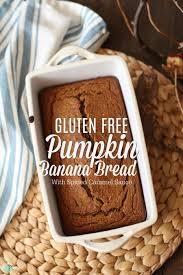 Libbys Spiced Pumpkin Bread Recipe by Gluten Free Pumpkin Banana Bread With Spiced Caramel Sauce