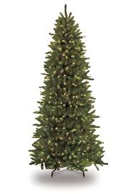 Christmas Trees Prelit Slim by The Holiday Aisle Pre Lit Slim Fraser 12 U0027 Green Fir Artificial