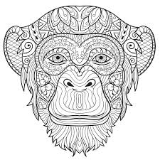 So Now It Is Time To Stop Monkeying Around Take A Look At The Last Free Printable Coloring Pages For Adults We Will Be Giving Out