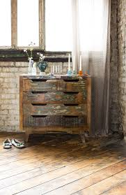 View In Gallery Rustic Chest Of Drawers Made From Reclaimed Painted Wood