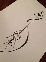 Arrow Tattoo Meaning An Can Only Be Shot Forward By Being Pulled Back