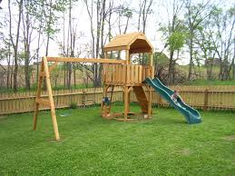 Exquisite Ideas Playsets For Backyard Good-Looking Backyard World ... Swing Sets Give The Kids A Playset This Holiday Sears My Tips For Buying And Installing A Set Or Outdoor Skyfort Ii Wooden Playsets Backyard Discovery Amazoncom Prestige All Cedar Wood Costco Gorilla Swings Frontier Walmartcom Creations Adventure Mountain Redwood Installation Interesting Playground Design With And Home Paradise Home Decor Amazing For Billys Ma Ct Ri Nh Me