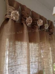 Rustic Kitchen Curtains More Image Ideas