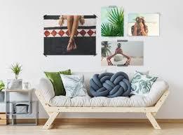 wandbilder als wanddeko gestalten myphotobook