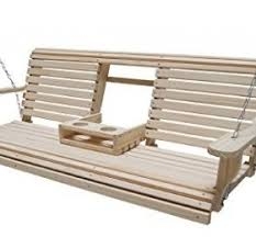 A Stunning Roll Back Porch Swing That Sports The Rot Resistant Cypress Eternal Wood Structure
