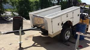 For Sale Fiberglass Mini Truck Service Bed Trailer For Sale
