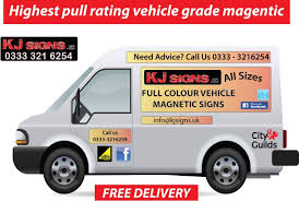 Custom Made Full Colour Van & Car Signs Strongest Vehicle Grade ...