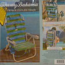 Canopy Beach Chairs At Bjs by Amazon Com Tommy Bahama Backpack Cooler Chair Striped Camping
