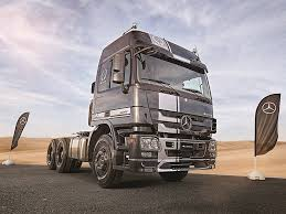 100 Mercedez Truck MercedesBenz Launches Special Edition Actros Truck In UAE Drive