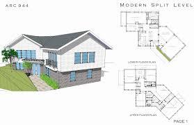 100 Trilevel House Split Level Open Floor Plan Lovely Tri Level Plans 1970s