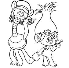 🥇 Trolls Para Colorear 🥇 【 Dibujos Para Imprimir Y Pintar 】
