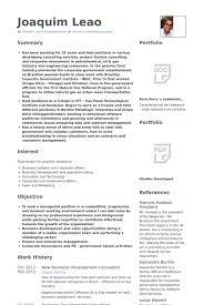 New Business Development Consultant Resume Samples