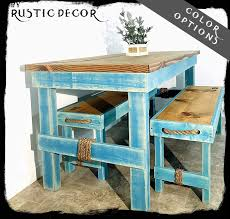 Amazon.com: New Farmhouse/Rustic Dining Room Kitchen Table ... Monde 2 Chair Ding Set Blue Cushion New Bargains On Modus Round Yosemite 5 Piece Chair Table Chairs Aqua Tot Tutors Kids Tables Tc657 Room And Fniture Originals Charmaine Ii Extendable Marble 14 Urunarr0179aquadingroomsets051jpg Moebel Design Kingswood Extending 4 Carousell Corinne Medallion With Stonewash Wood Turquoise Chairs Farmhouse Table Turquoise Aqua