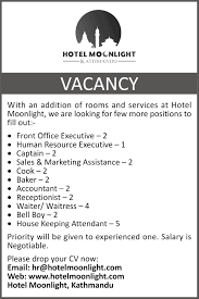 Hotel Front Office Manager Salary In Dubai by Hotel Moonlight
