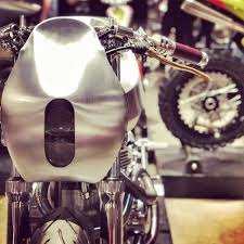 100 Tire By Mark Custom Aluminum Motorcycle Build By Carlesimo