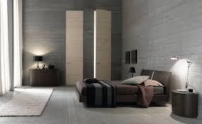 Modern Bedroom Ideas With Dark Wood Platform Bed