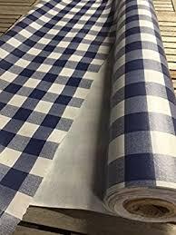 nappe toile ciree au metre au rouleau de 30 metres nappe vinyle carreaux vichy bleu toile
