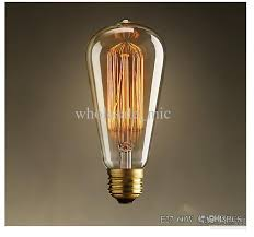 st64 edision antique light bulb quality personality bulbs