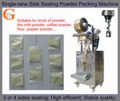 Maxwell Coffee Powder Packing Machine 4 Sides Sealing PLC Control