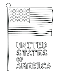 Australian Flag Picture Coloring Page Free Australia Sheet Full Size
