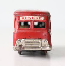 Vintage Rescue Truck, Red Tin Toy Truck, Made In Japan By Bellalulu ... Bargain Johns Antiques Blog Archive Buddy L Pressed Steel Antique Cast Iron Arcade Toy Intertional Dump Truck Ride Em For Sale Sold Fire Trucks For Sale Wen Mac Texaco Truck Speechless Sunday Garden Planters Vintage Diecast Metal Milk 1930s Stock Photo 3105894 Aerial Ladder Circa 261930 1937 Ford Pickup Red 124 Scale American Classic Diecast Image Free Space Toys Price Guide Information
