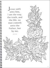 Full Image For Bible Verse Colouring Pages Adults Other Feature Verses Accented By Pictures